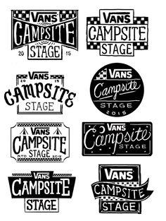 Vans Campsite Stage 2015 on Branding Served