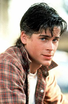Young Rob Lowe as Sodapop Curtis  was probably one of the greatest casting choices ever. So beautiful. (The Outsiders)