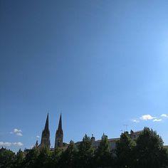 Go de fin de journée #Niort #cielfie #ciel #cielo #himmel #sky #france #nofilter #bleu #blue #blau #azul #skyporn