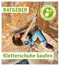 Kletterschuhe sind für ein sicheres Kletter extrem wichtig! www.naturzeit.com