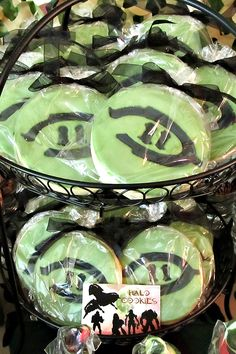 {Camo Covered} Halo Themed Birthday Party