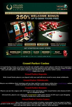 Grand Parker Casino GrandParkerCasinos.com