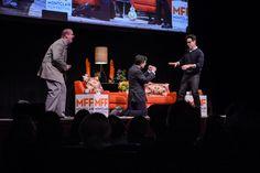 Stephen Colbert and JJ Abrams