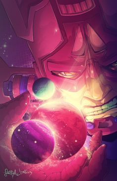 Galactus by Leigh Jeffery Print can be bought here: https://society6.com/product/hunger-6fj_print#1=45