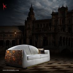 Aura of Aristocracy   This piece, La Monarch from the Beautiful Living Collection of Stanley, brought home a whiff of history tinged with the rich aesthetics of European art. It is indeed Beautiful Living carrying with it the aura of aristocratic luxury.  http://bit.ly/1qto0Xr #Lovestanley #Sofas #Beds #HomeInteriors