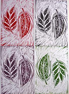 Hello Sugar Cane: Lino Printing Course : Bar Lane Studios York # printmaking