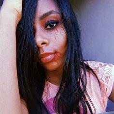 """3b2af7d6e Vanessa Rocha on Instagram  """"Usando a irmã de modelo😍❤ teste básico para  halloween"""""""