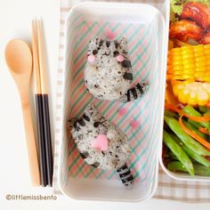 Pusheen the Cat Bento - Little Miss Bento