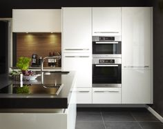 Kitchen Island, Kitchen Cabinets, Kitchen Appliances, Kitchens, Wall Oven, House, Home Decor, Bad, Decoration
