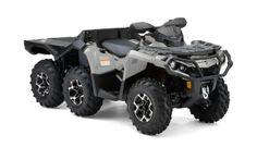 Outlander 6x6 1000XT Quad de 6 ruedas http://buenespacio.es/outlander-6x6-1000xt-quad-de-6-ruedas.html #quad #motos #transporte