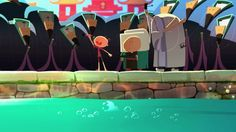 """It is an animated PSA (Public Service Announcement) that I directed, produced by Original Force Animation Studio. The well-know Ancient Chinese story """" Cao Chong weighs an elephant"""" is my source of inspiration to this creation.  Hope you'll enjoy it."""