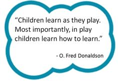 Fred pioneered the study of Original Play. Spark Quotes, Pre Kindergarten, Early Intervention, Early Childhood Education, Social Work, Infants, Classroom Management, Special Education, Kids Learning