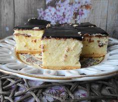 Sernik Puszysty z Mlekiem w Proszku Polish Desserts, Polish Recipes, Cookie Desserts, Cake Cookies, Sugar Cookies, Cake Recipes, Dessert Recipes, Sweet Cakes, Yummy Cakes