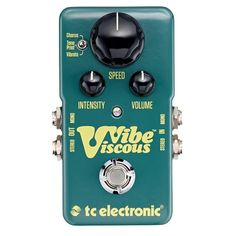 Get all the vibe of Hendrix, Trower or Pink Floyd with the TC Electronic Viscous Vibe at Andertons With Free UK Delivery and 0% Finance options available
