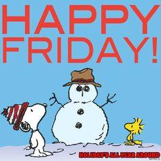 Snoopy • Happy Friday