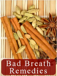 DIY Health-bad breath remedies