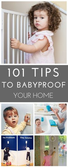 A parent's comprehensive guide to baby-proofing the home in 101 easy steps that emphasize safety for children. (I am sure you will love this guide).