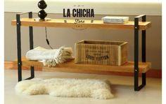 mesa tv lcd estilo industrial!