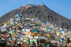 El Cerro San Cristóbal. Lima - Perú