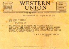 POW Telegram--WW2 | WWII History + German POWs in GA ...
