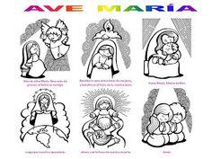 SGBlogosfera. Amigos de Jesús: APRENDEMOS Y TRABAJAMOS EL AVE MARÍA
