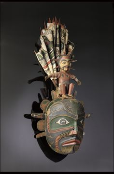 Transformation Mask Representing the Sun Kwakwaka'wakw, 1870-1910 The National Museum of the American Indian
