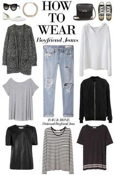 Loby Art: How to wear BOYFRIEND JEANS