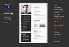 MATERIAL CV 2017 by graphicbox on @Graphicsauthor