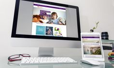 Families for Children Adoption responsive web design & build. White Space Advertising – Advertising, Design and Web agency based in Devon