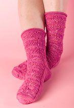 Wildflowers Socks Pattern Pattern