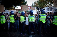 Manifestação em frente ao Palácio de Belém durante a reunião do Conselho de Estado NUNO FERREIRA SANTOS