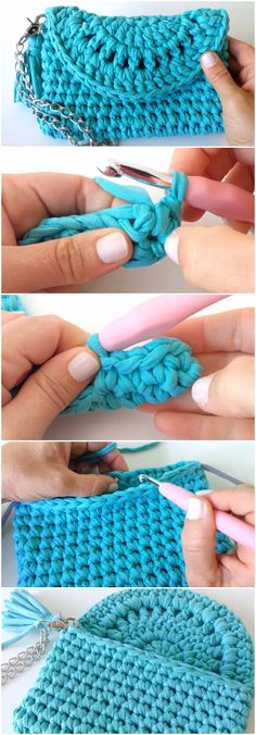 Crochet Beautiful Handbag Free Pattern [Video]