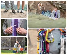 Rock Climbing Wedding at the New River Gorge http://www.raynamcginnisphotography.com/best-of-2015-colorado-wedding-pictures/  Rock Climbing Wedding Photographer, Rock Climbing Engagement, Rock Climbing Photoshoot Ideas, Carabiner Ring Shot, West Virginia Wedding, Active Couples, Adventurous Weddings, Mountain Wedding Photography