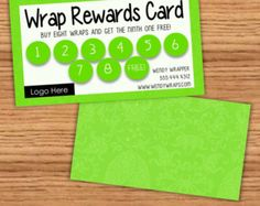 It Works Inspired Wrap Rewards Card Glitter by NextLevelSolutions