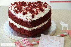 Celebrant Sant Valentí amb un Red Velvet   Entre núvols de cotó