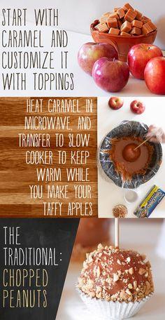 DIY Caramel Apples