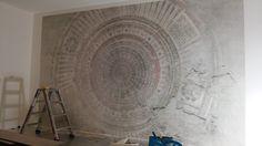 happy customer wall and deco mandala