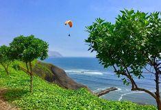 Découverte d'une des plages du district de Miraflores lors de votre location de vacances au Pérou