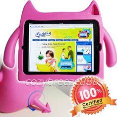 Ndevr iPadding Gremlin Apple iPad 2/3/4 Kids Play Case in Pink (Lightweight, Kid Safe EVA Foam, Shock Absorbing, Free Standing, Sound Booster) by Ndevr, http://www.amazon.ca/dp/B00B4NCWI0/ref=cm_sw_r_pi_dp_fJ-Msb1F9C7VS