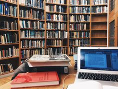 "freckledstudy: ""Working on coursework reading in the Scott Polar Research Institute Library a couple of weeks ago. Missing Cambridge and its selection of libraries v much now """