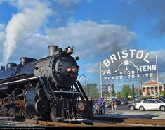 RailPictures.Net Photo: SOU 4501 Southern Railway Steam 2-8-2 at Bristol, Tennessee by Ryan Markham