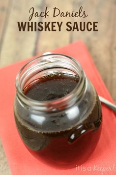 Delicious on burgers - This Jack Daniels Glaze recipe is sweet, peppery and packed with flavor!