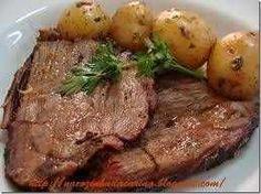 Receita de Carne Assada no Forno em 5 Passos. Saiba os ingredientes e o passo a passo para fazer bem fácil.