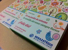 Parte de los últimos trabajos: impresión de postales institucionales full color para la Municipalidad de Berazategui