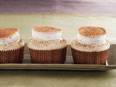 White Hot Chocolate Cupcakes