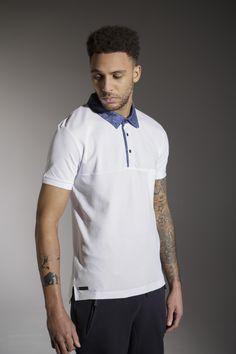 The 'HUTSON' Polo - White - £30 - http://www.voijeans.com/blackout/huston-polo-white.html