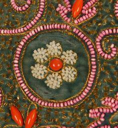 Elsa Schiaparelli - Veste Boléro - Soie, Faille et Broderies de Perles - Années 30