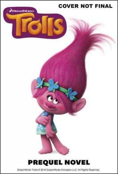 Trolls Movie Birthday Invitation Dreamworks Trolls Movie