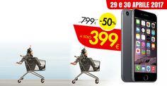 iPhone 7 da 32GB a soli 399presso i punti vendita Interspar di Padova a fronte di 300 di spesa