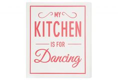 Isn't every room for dancing?!